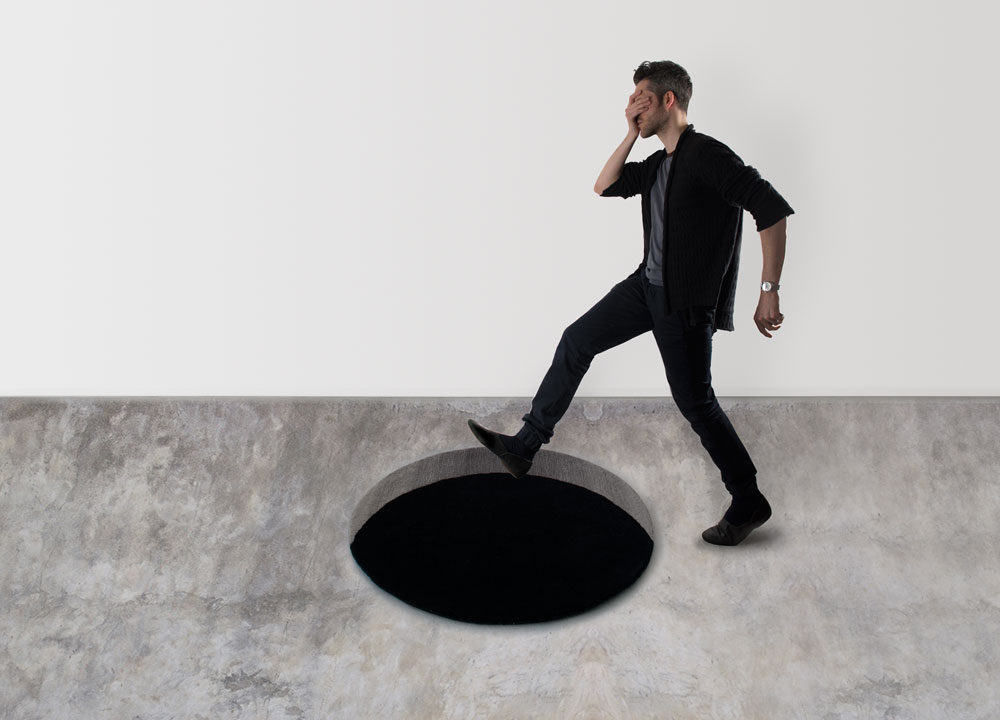1M Void Rug - Stepping into the Void